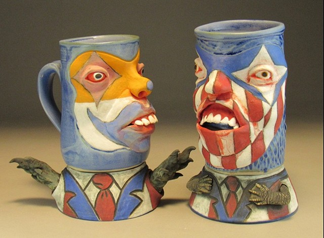 Drain The Swamp Mug Sets