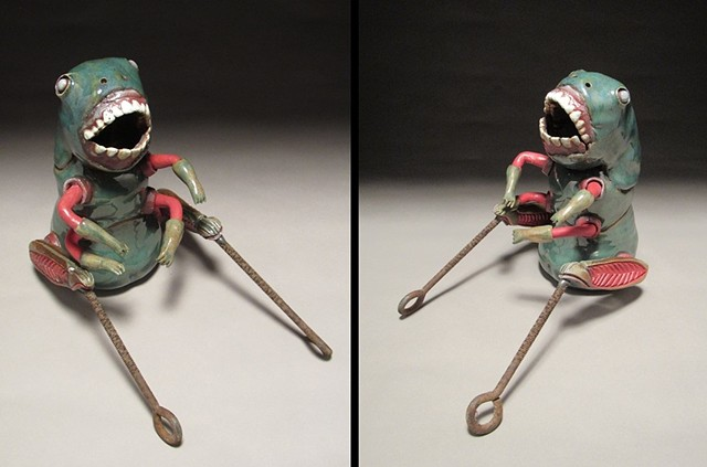 Cricket Dolls (two separate figures)