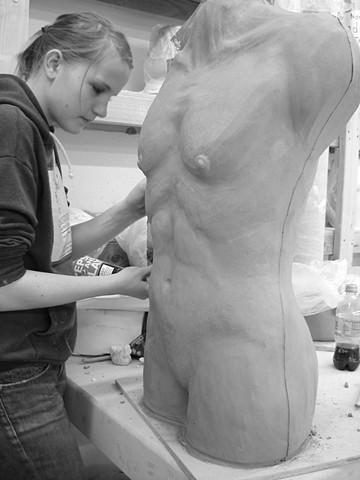 Ceramic Sculpture: Tools & Techniques, FVCC