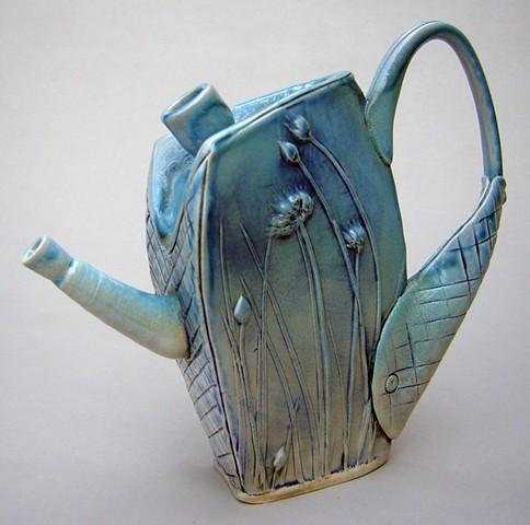 Wild Onion Teapot