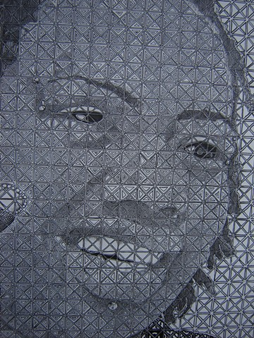 2-D Design, ULL Assignment: Chuck Close Grid/Abstraction