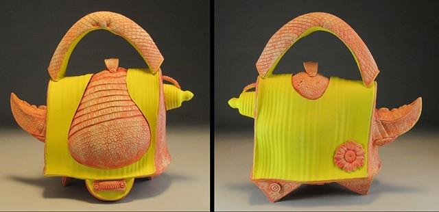 Handbag Teapot