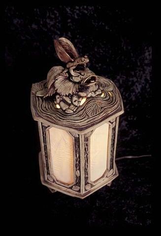 Fairy Frog Lamp