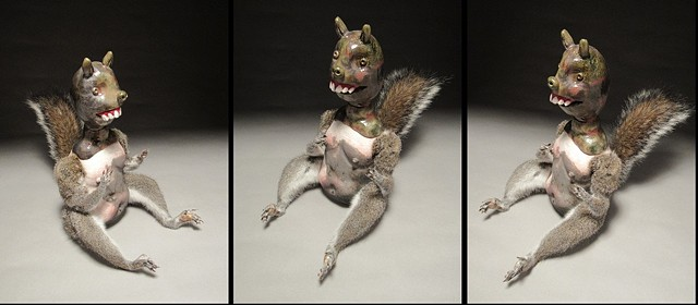Squirrel Doll