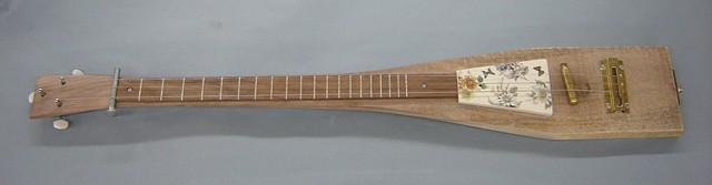 Walnut Butterfly Electric Guitar
