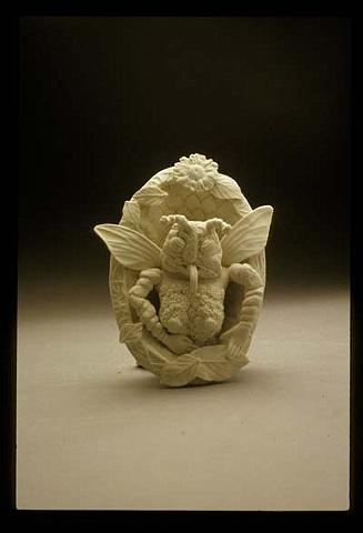 Small Porcelain Cameo