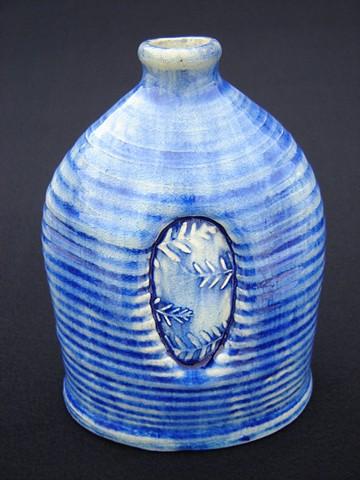 Live Oak Fern Blue Bottle