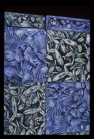 Palissy inspired tiles