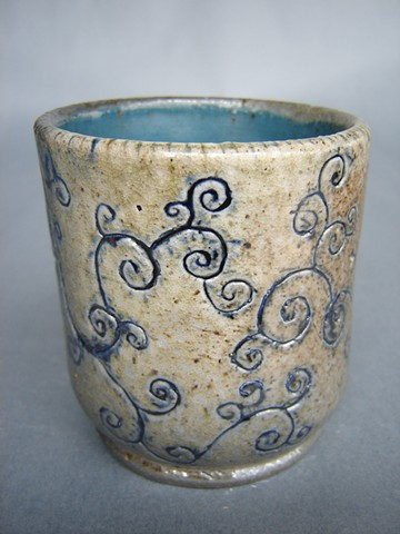 "Introduction to Ceramics, FVCC Wood-Fired Cup (fired in the experimental kiln ""Mini-Me-Agama"")"