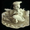 "Porcelain Fountain ""Flounder Fishing"""