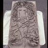 Life-size Mermaid Tile Mural, before firing