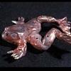 Raku Frog Flute
