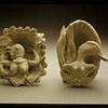 Small porcelain cameos