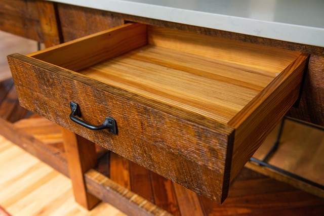 Ansty Island drawer detail