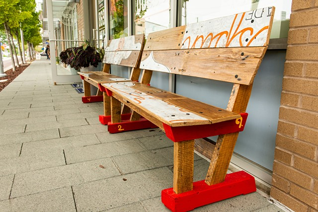 Homespun benches