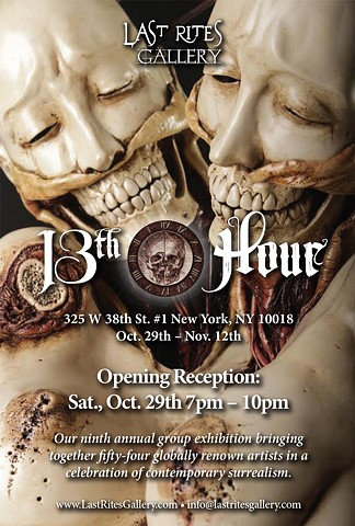 13th Hour Exhibition at Last Rites Gallery