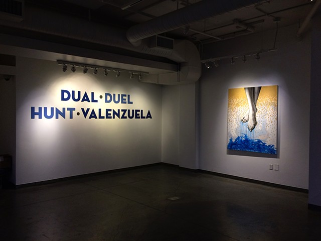 2016- Dual-Duel Exhibition with Bryan Valenzuela