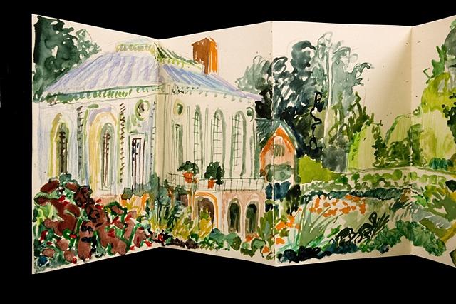 Peter May garden detail