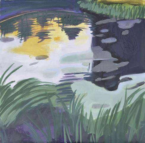 Pond Dusk