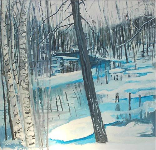 Wingdale winter day
