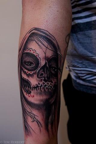 Scary Tattoo