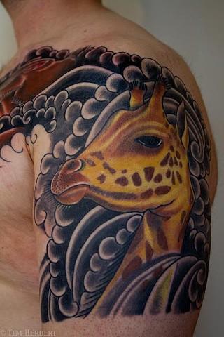 Giraffe Tattoo