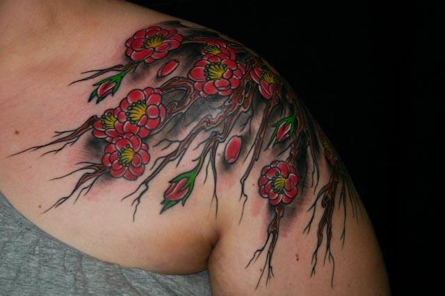 Johanna's Plum Blossoms