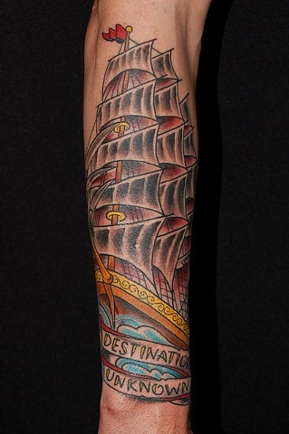 Jeremy's Clipper Ship