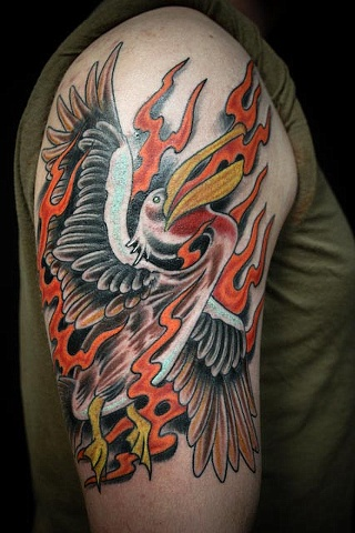 The Legendary Fire Pelican