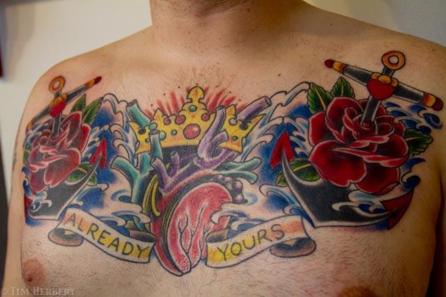 Already Yours Heart Tattoo