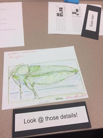 NCMA Teacher Workshops: Art and Environment (Biological Illustration with NCSU Professor Jennifer Landin)
