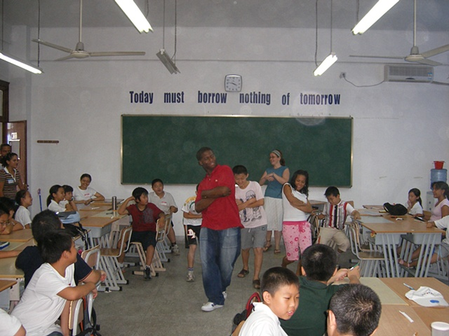 Service Trip to Shanghai, China