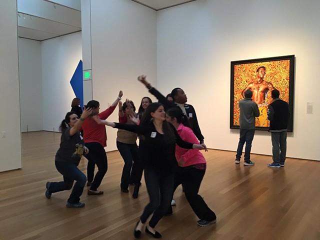 NCMA Teacher Workshops: Gallery Experiences