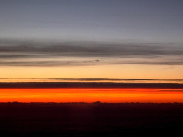 Orange Sky 1
