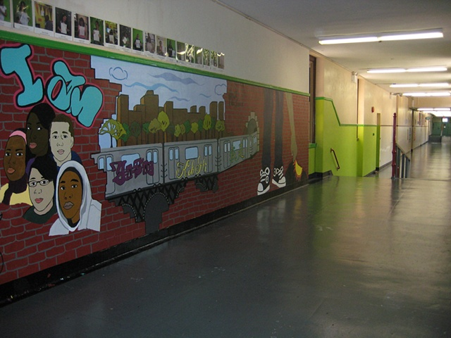 School Mural Year Two