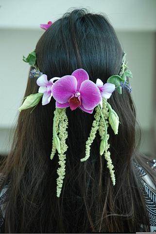 Flowergirl Hairwreath