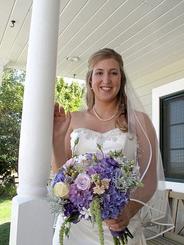 Erin's Bridal Bouquet