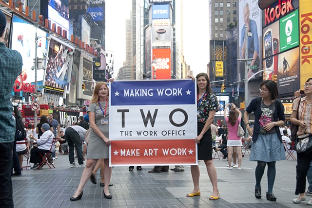 The Work Office (TWO) in Times Square