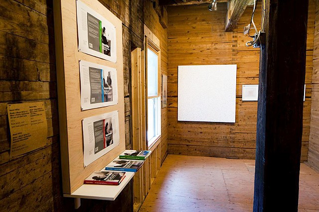 Installation in The Wassaic Project Summer Exhibition, Wassaic, NY