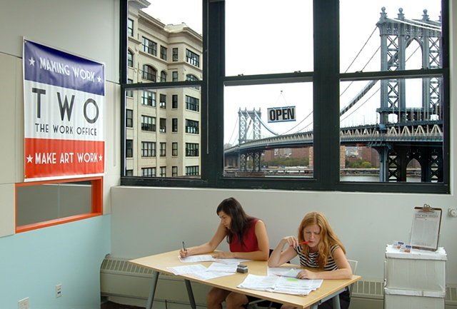 The Work Office (TWO) at 45 Main Street, Dumbo, Brooklyn, New York