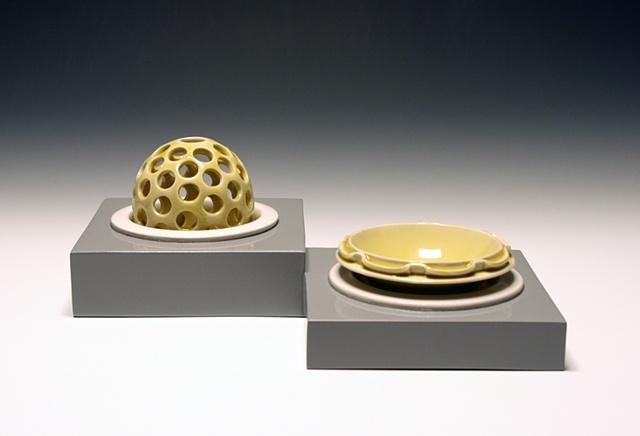 Flower Vase & Bowl