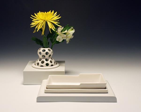 Vase & Tray