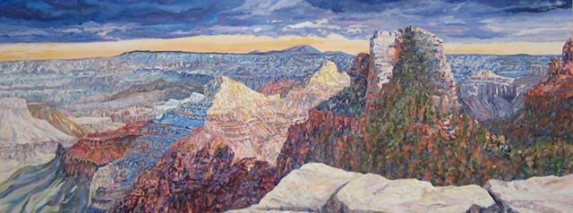 environment, grand canyon national park, western vista, fine art