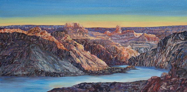 contemporary southwestern landscape, Grand Canyon, Colorado river