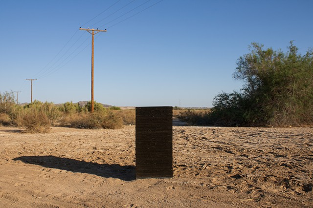 Silence (Tarpaper Totem, Poston, Arizona)