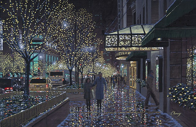 """Sparkling Avenue Winter Impression"""
