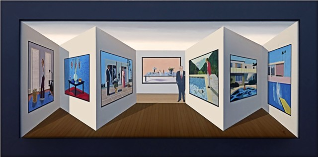 """Gallery 70; Hockney"""