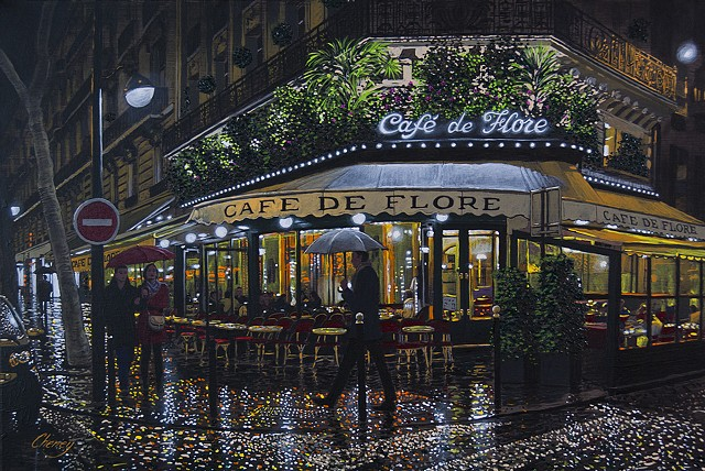 """A Rainy Evening in Paris"""