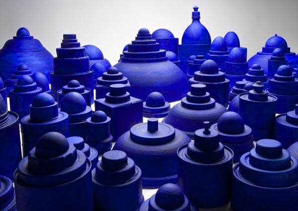 Caroline Bagenal, Blue Domes, 2008