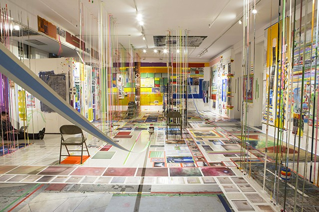 juddrules: Installation view